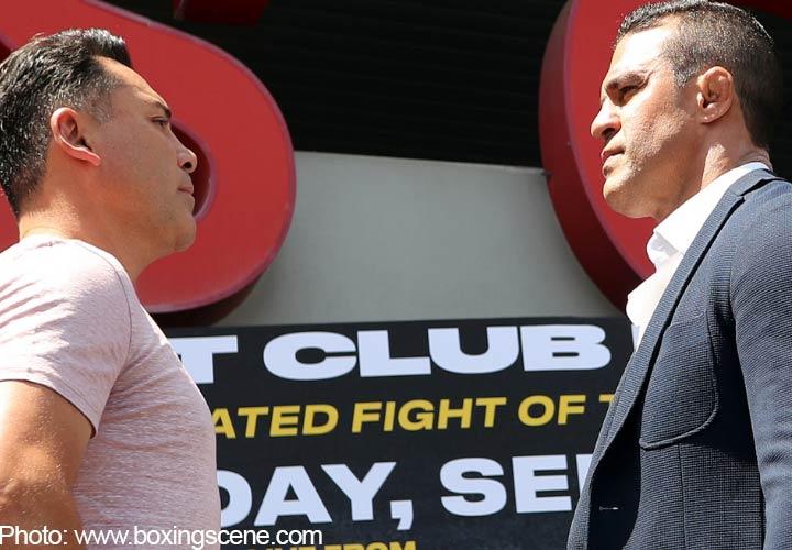 del a Hoya vs Belfort
