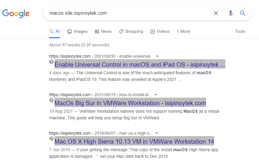 isipinoytek google search