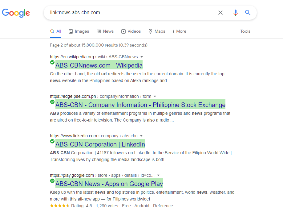 isipinoytek google search pages with links